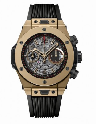 PHOTO 02 - Hublot's Big Bang Unico Full Magic Gold